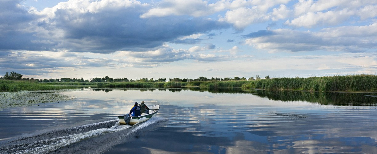 Excursii cu barca in Delta Dunarii